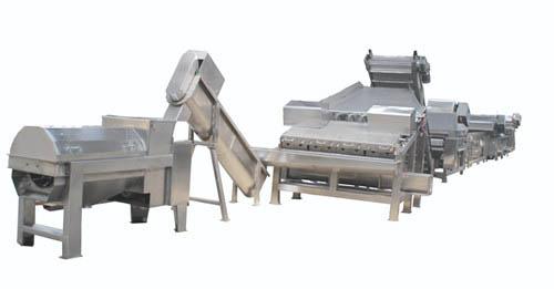 Litchi (longan rambutan) Pre-treatment Production Line@