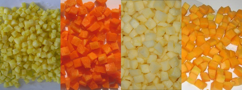 vegetable and fruit dicer